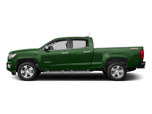 Rainforest Green Metallic 2015 Chevrolet Colorado Pictures Colorado Crew Cab Work Truck 2WD photos side view