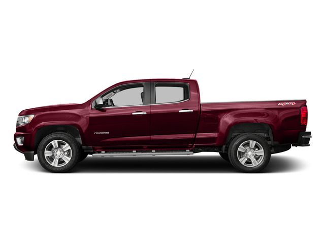 Red Rock Metallic 2015 Chevrolet Colorado Pictures Colorado Crew Cab Work Truck 2WD photos side view