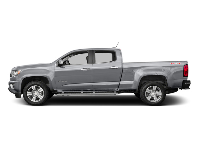 Silver Ice Metallic 2015 Chevrolet Colorado Pictures Colorado Crew Cab Work Truck 2WD photos side view