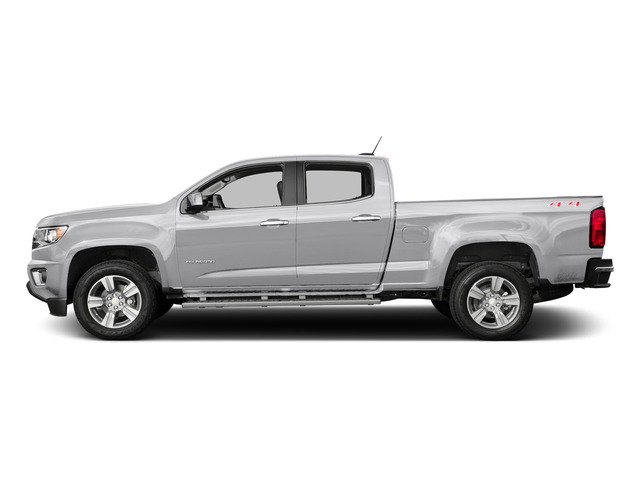 Summit White 2015 Chevrolet Colorado Pictures Colorado Crew Cab Work Truck 2WD photos side view