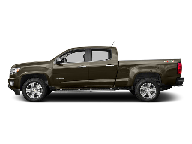 Brownstone Metallic 2015 Chevrolet Colorado Pictures Colorado Crew Cab Work Truck 2WD photos side view