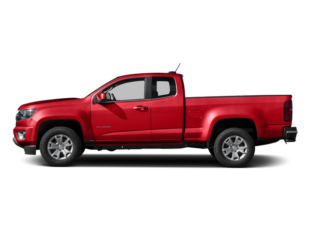 Red Hot 2015 Chevrolet Colorado Pictures Colorado Extended Cab LT 4WD photos side view