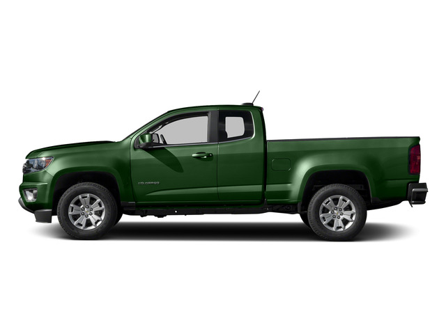 Rainforest Green Metallic 2015 Chevrolet Colorado Pictures Colorado Extended Cab LT 4WD photos side view