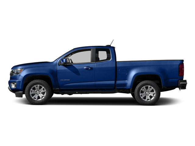 Laser Blue 2015 Chevrolet Colorado Pictures Colorado Extended Cab LT 4WD photos side view