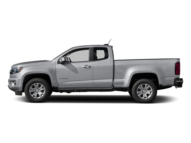 Silver Ice Metallic 2015 Chevrolet Colorado Pictures Colorado Extended Cab LT 4WD photos side view