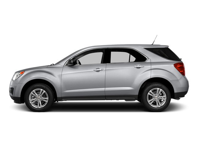 Silver Ice Metallic 2015 Chevrolet Equinox Pictures Equinox Utility 4D LS AWD I4 photos side view