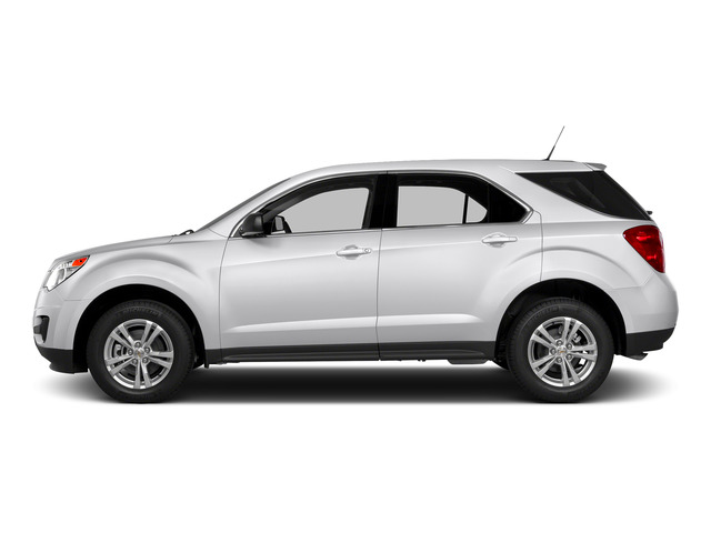 Summit White 2015 Chevrolet Equinox Pictures Equinox Utility 4D LS AWD I4 photos side view