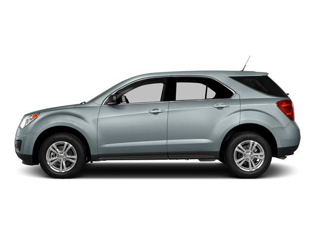 Silver Topaz Metallic 2015 Chevrolet Equinox Pictures Equinox Utility 4D LS AWD I4 photos side view