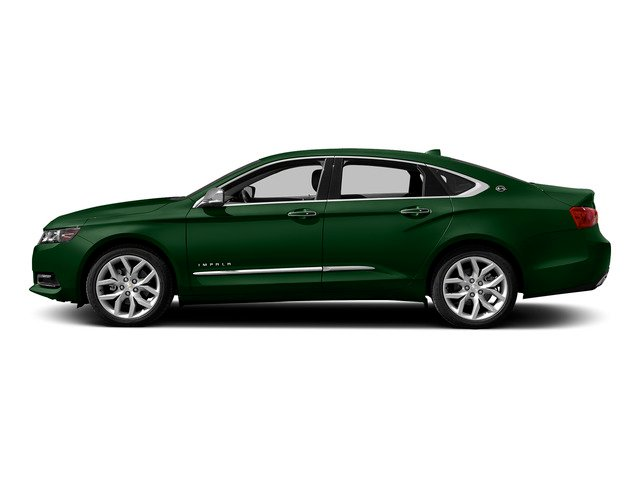 Rainforest Green Metallic 2015 Chevrolet Impala Pictures Impala Sedan 4D LT V6 photos side view