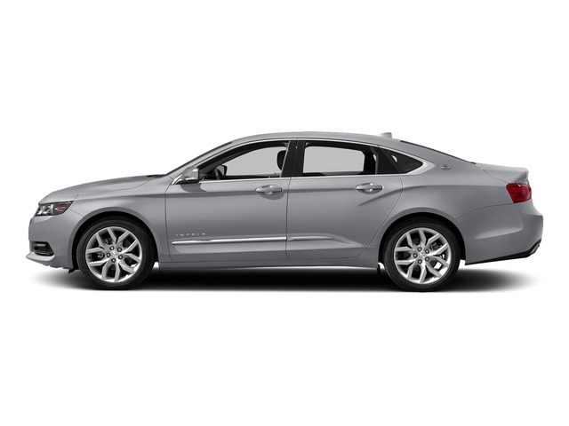 Silver Ice Metallic 2015 Chevrolet Impala Pictures Impala Sedan 4D LT V6 photos side view