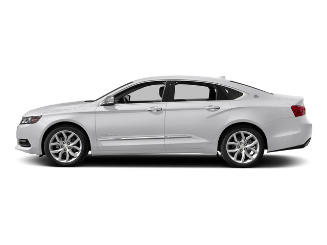 Summit White 2015 Chevrolet Impala Pictures Impala Sedan 4D LT V6 photos side view