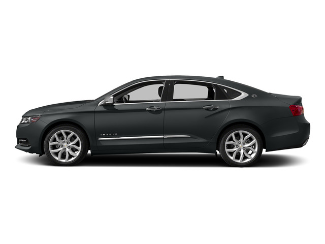 Ashen Gray Metallic 2015 Chevrolet Impala Pictures Impala Sedan 4D LT V6 photos side view