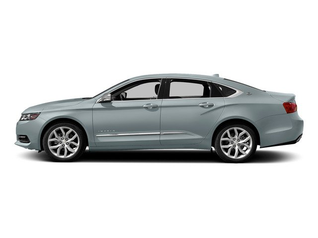Silver Topaz Metallic 2015 Chevrolet Impala Pictures Impala Sedan 4D LT V6 photos side view