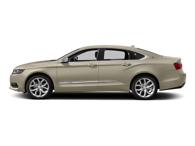 Champagne Silver Metallic 2015 Chevrolet Impala Pictures Impala Sedan 4D LT V6 photos side view