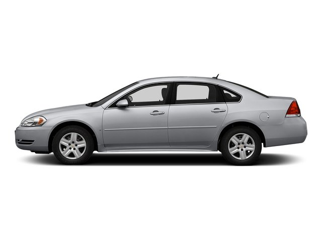 Silver Ice Metallic 2015 Chevrolet Impala Limited Pictures Impala Limited Sedan 4D LS V6 photos side view