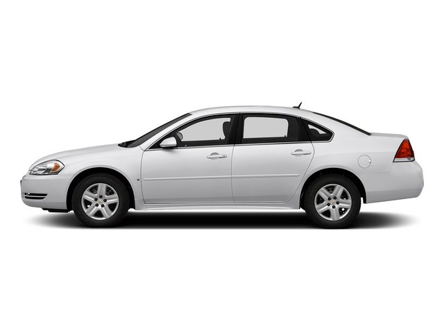 Summit White 2015 Chevrolet Impala Limited Pictures Impala Limited Sedan 4D LS V6 photos side view