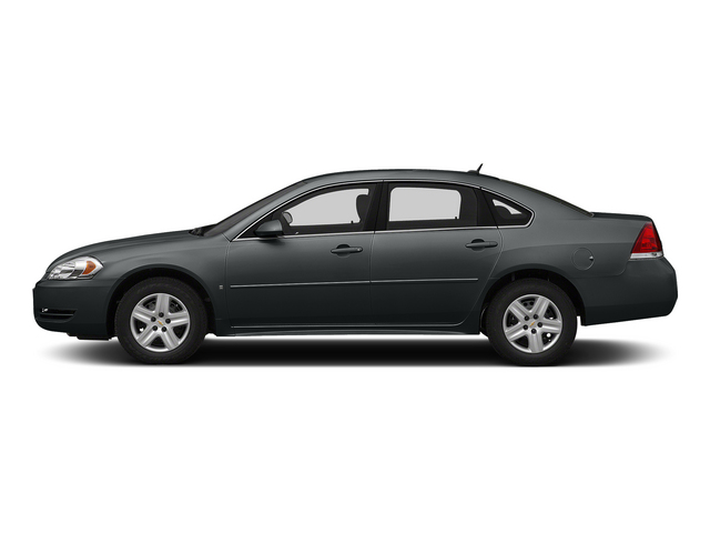 Ashen Gray Metallic 2015 Chevrolet Impala Limited Pictures Impala Limited Sedan 4D LS V6 photos side view