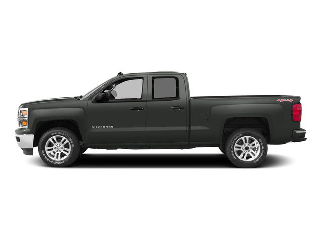 Slate Grey Metallic 2015 Chevrolet Silverado 1500 Pictures Silverado 1500 Extended Cab LTZ 2WD photos side view