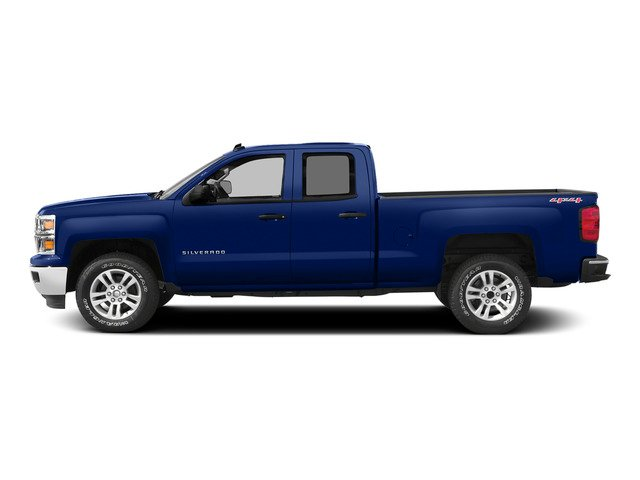 Deep Ocean Blue Metallic 2015 Chevrolet Silverado 1500 Pictures Silverado 1500 Extended Cab LTZ 2WD photos side view