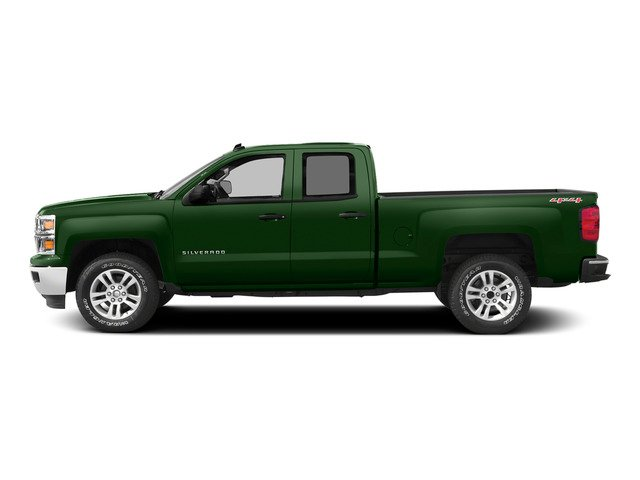Rainforest Green Metallic 2015 Chevrolet Silverado 1500 Pictures Silverado 1500 Extended Cab LTZ 2WD photos side view