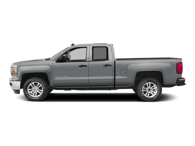 Silver Ice Metallic 2015 Chevrolet Silverado 1500 Pictures Silverado 1500 Extended Cab LTZ 2WD photos side view