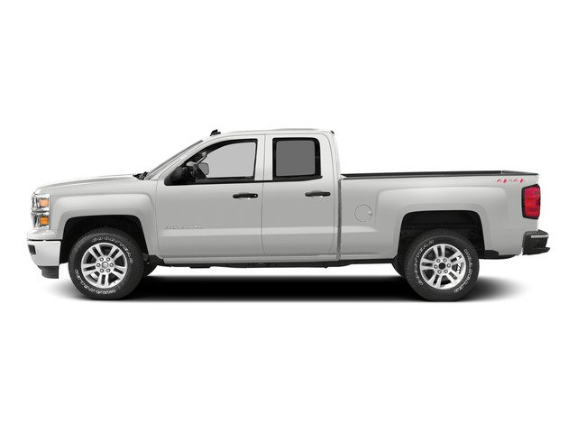 Summit White 2015 Chevrolet Silverado 1500 Pictures Silverado 1500 Extended Cab LT 2WD photos side view