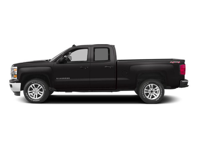 Black 2015 Chevrolet Silverado 1500 Pictures Silverado 1500 Extended Cab LTZ 2WD photos side view