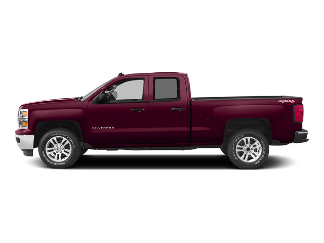 Deep Ruby Metallic 2015 Chevrolet Silverado 1500 Pictures Silverado 1500 Extended Cab LTZ 2WD photos side view