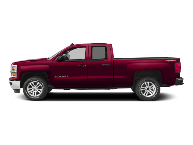 Victory Red 2015 Chevrolet Silverado 1500 Pictures Silverado 1500 Extended Cab Work Truck 2WD photos side view