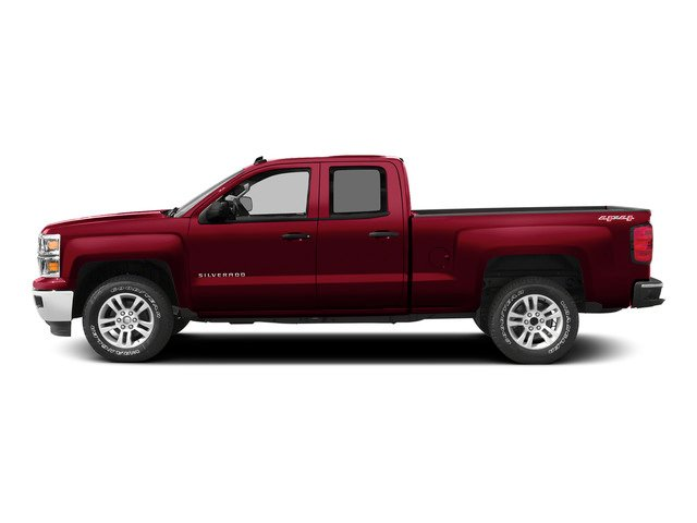 Victory Red 2015 Chevrolet Silverado 1500 Pictures Silverado 1500 Extended Cab LT 2WD photos side view