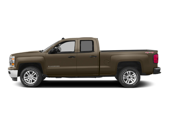 Brownstone Metallic 2015 Chevrolet Silverado 1500 Pictures Silverado 1500 Extended Cab LTZ 2WD photos side view
