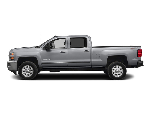 Silver Ice Metallic 2015 Chevrolet Silverado 2500HD Pictures Silverado 2500HD Crew Cab LT 4WD photos side view