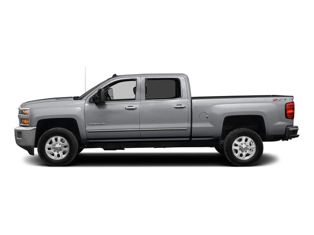 Silver Ice Metallic 2015 Chevrolet Silverado 2500HD Pictures Silverado 2500HD Crew Cab LTZ 4WD photos side view