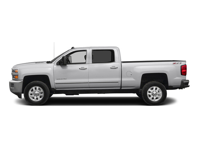 Summit White 2015 Chevrolet Silverado 2500HD Pictures Silverado 2500HD Crew Cab LTZ 4WD photos side view