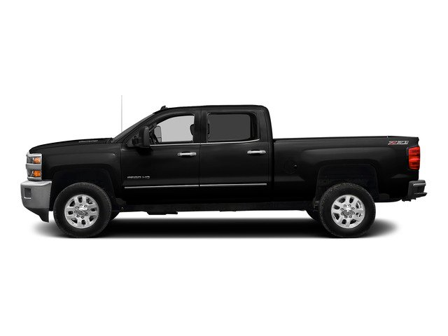 Black 2015 Chevrolet Silverado 2500HD Pictures Silverado 2500HD Crew Cab LT 4WD photos side view