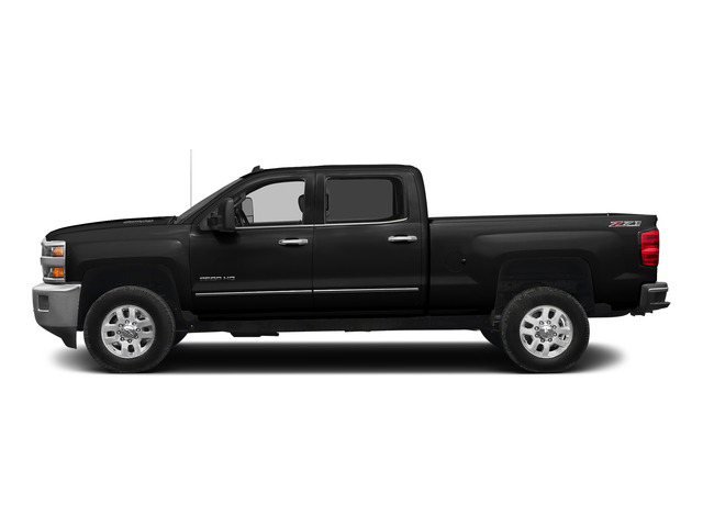 Black 2015 Chevrolet Silverado 2500HD Pictures Silverado 2500HD Crew Cab LTZ 4WD photos side view