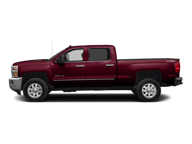 Deep Ruby Metallic 2015 Chevrolet Silverado 2500HD Pictures Silverado 2500HD Crew Cab LT 4WD photos side view