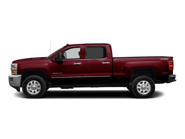 Deep Ruby Metallic 2015 Chevrolet Silverado 2500HD Pictures Silverado 2500HD Crew Cab LTZ 4WD photos side view