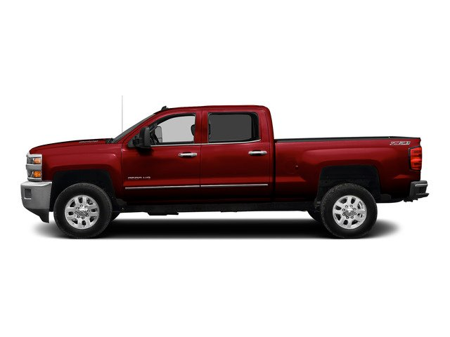 Victory Red 2015 Chevrolet Silverado 2500HD Pictures Silverado 2500HD Crew Cab LTZ 4WD photos side view