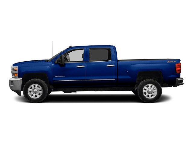Blue Topaz Metallic 2015 Chevrolet Silverado 2500HD Pictures Silverado 2500HD Crew Cab LTZ 4WD photos side view