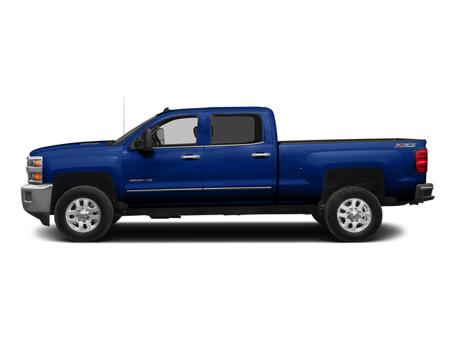 Blue Topaz Metallic 2015 Chevrolet Silverado 2500HD Pictures Silverado 2500HD Crew Cab LT 4WD photos side view