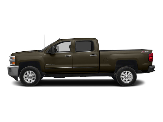 Brownstone Metallic 2015 Chevrolet Silverado 2500HD Pictures Silverado 2500HD Crew Cab LTZ 4WD photos side view