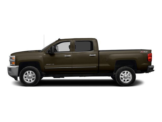 Brownstone Metallic 2015 Chevrolet Silverado 2500HD Pictures Silverado 2500HD Crew Cab LT 4WD photos side view