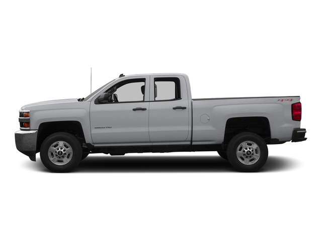 Silver Ice Metallic 2015 Chevrolet Silverado 2500HD Pictures Silverado 2500HD Extended Cab LTZ 2WD photos side view