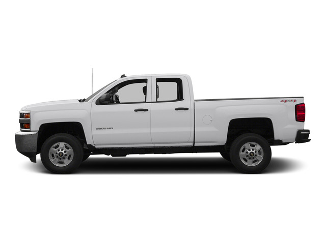 Summit White 2015 Chevrolet Silverado 2500HD Pictures Silverado 2500HD Extended Cab LTZ 2WD photos side view