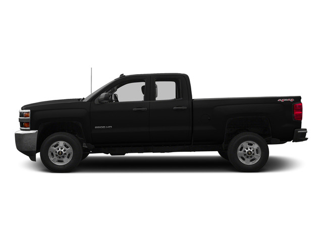 Black 2015 Chevrolet Silverado 2500HD Pictures Silverado 2500HD Extended Cab LTZ 2WD photos side view