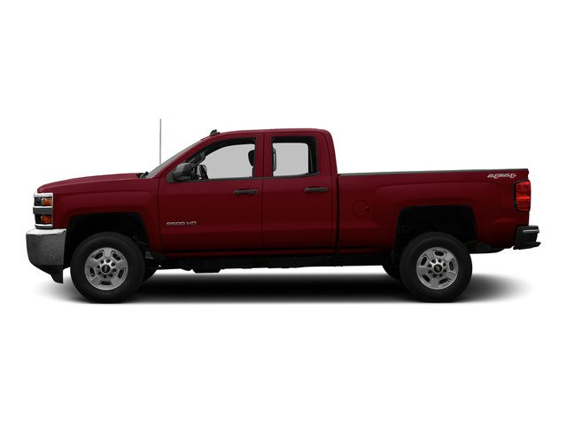 Deep Ruby Metallic 2015 Chevrolet Silverado 2500HD Pictures Silverado 2500HD Extended Cab LTZ 2WD photos side view