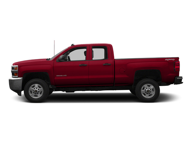 Victory Red 2015 Chevrolet Silverado 2500HD Pictures Silverado 2500HD Extended Cab LTZ 2WD photos side view