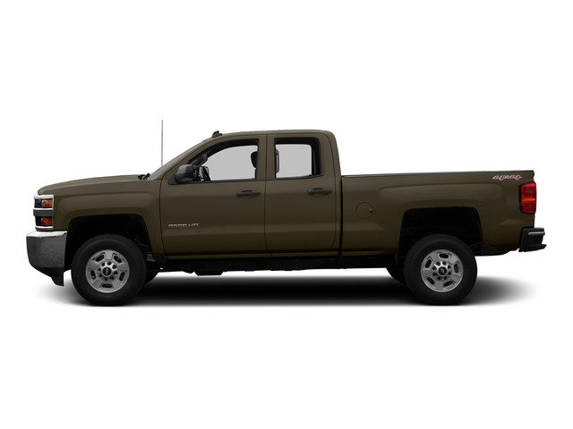 Brownstone Metallic 2015 Chevrolet Silverado 2500HD Pictures Silverado 2500HD Extended Cab LTZ 2WD photos side view