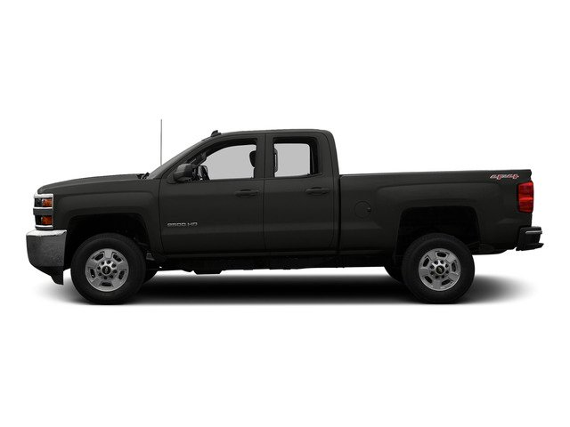 Tungsten Metallic 2015 Chevrolet Silverado 2500HD Pictures Silverado 2500HD Extended Cab LTZ 2WD photos side view
